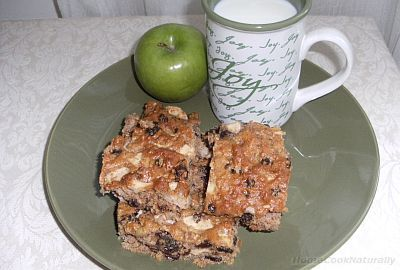Apple Quinoa Bars