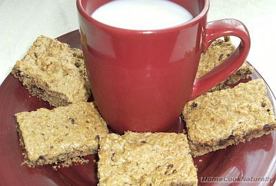 Chocolate Chip-oat Bars