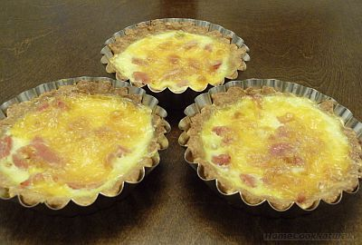 Ham Cheese Mini Quiche